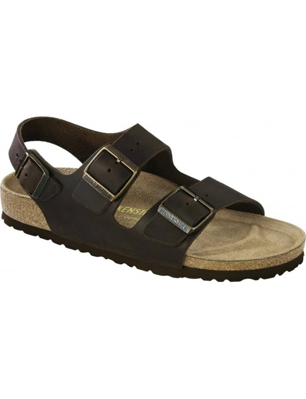 Birkenstock Milano in oiled leather