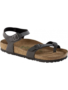 Birkenstock sandalo Taormina nero spazzolato