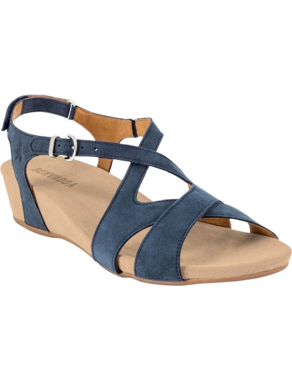 Suede leather walking sandals