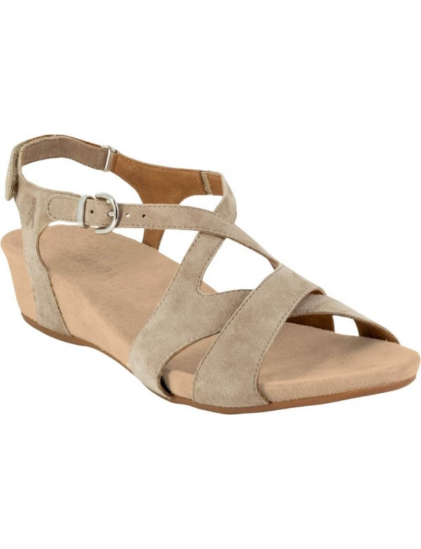 Wedge leather sandals for ladies, top comfort by Benvado, mod. Vittoria