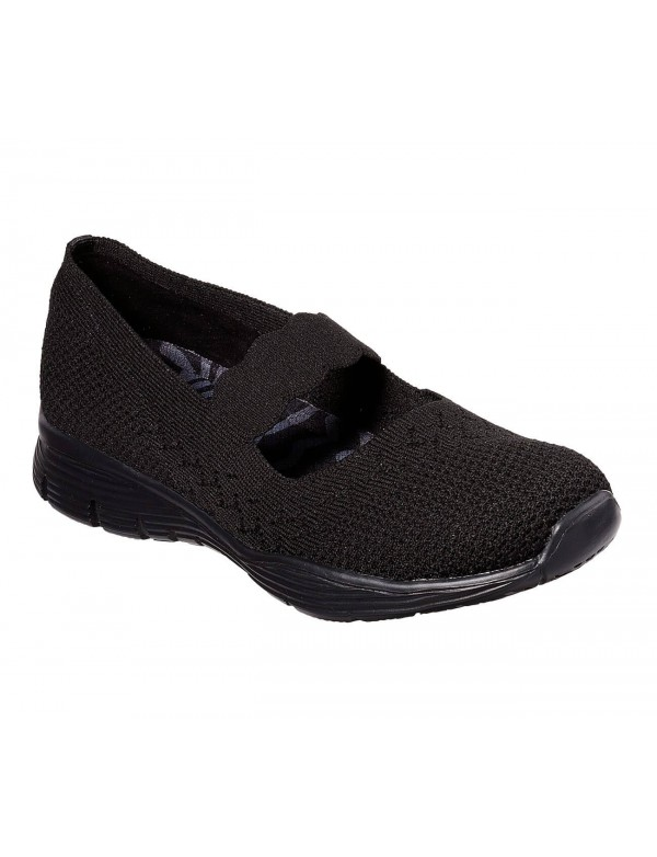Flat pumps with strap, Skechers