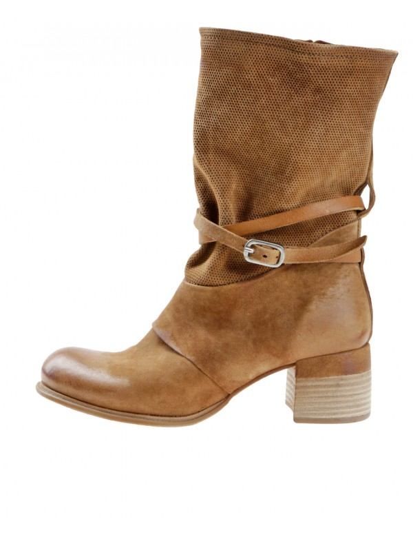 Womens bown leather ankle boots | Italian brand Airstep AS98