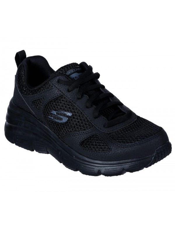 Memory foam sneaker shoes for women, by Skechers