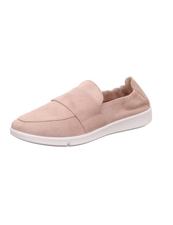 Comfortable beige loafers