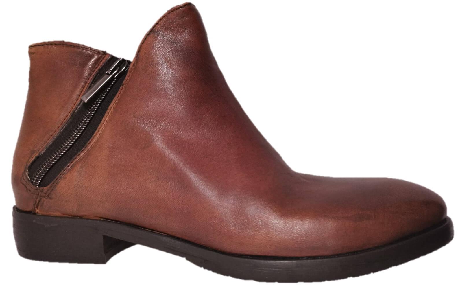 Brown Italian Leather