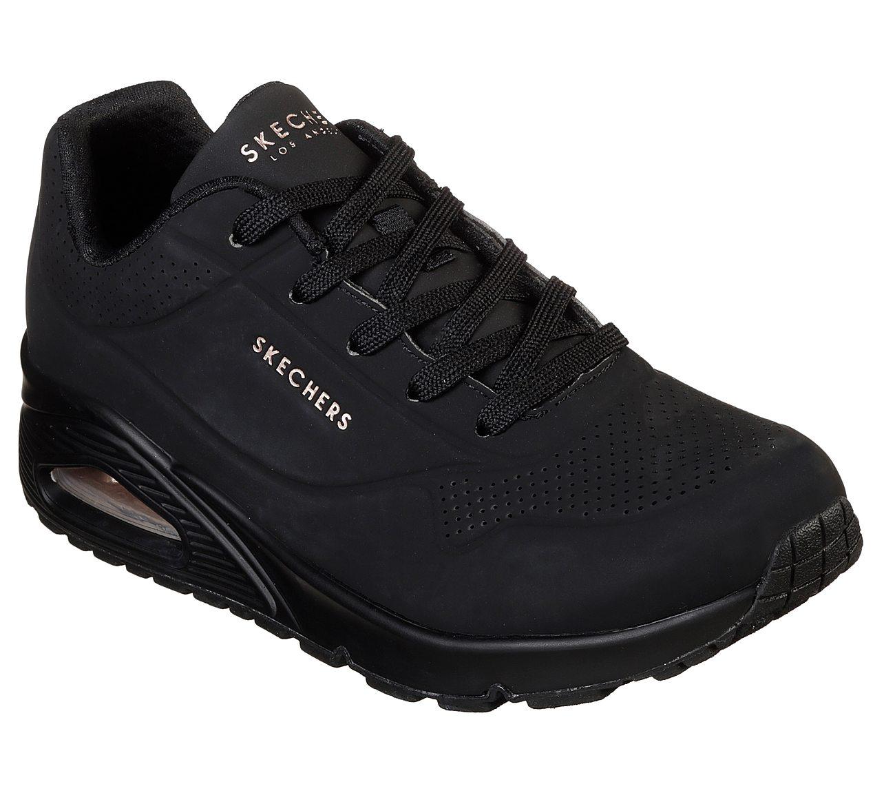 Black Air Skechers