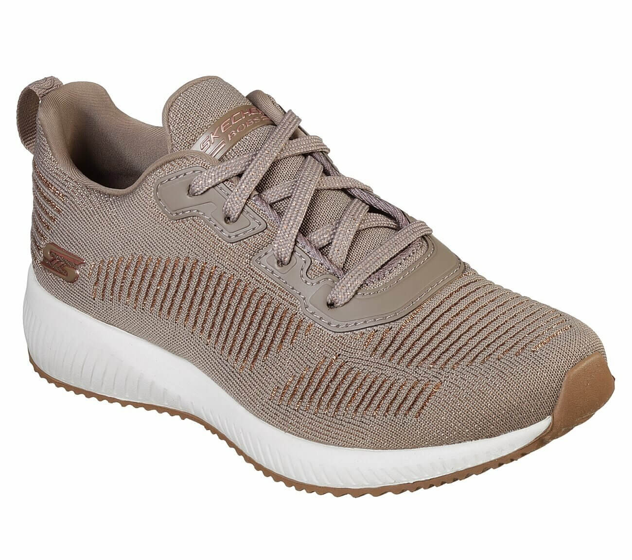 Taupe Skechers