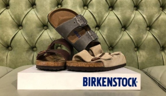 Birkenstock shoes and sandals